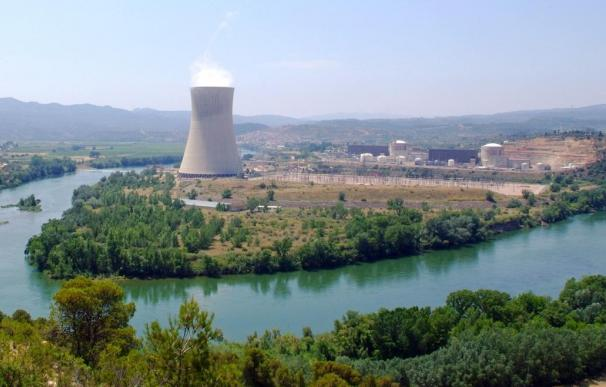 Imagen de la central nuclear de Ascó.