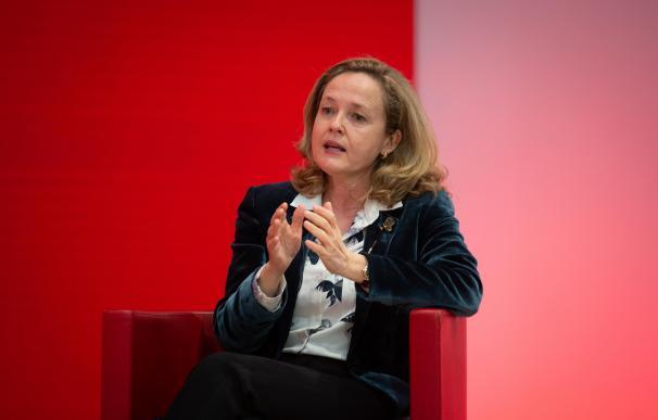 La ministra de Asuntos Económicos y Transformación Digital, Nadia Calviño i