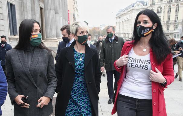 Mujeres feministas Vox