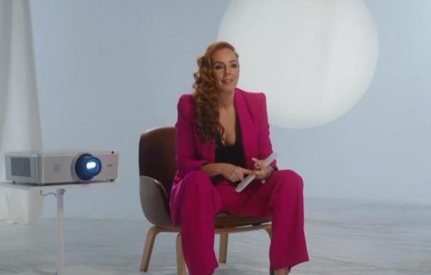 Rocío Carrasco, en una imagen del documental que emite Telecinco.