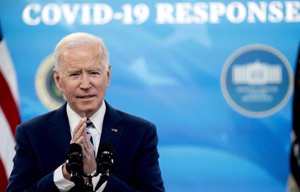 29/03/2021 El presidente de Estados Unidos, Joe Biden ECONOMIA NORTEAMÉRICA ESTADOS UNIDOS STEFANI REYNOLDS - POOL VIA CNP / ZUMA PRESS / CON