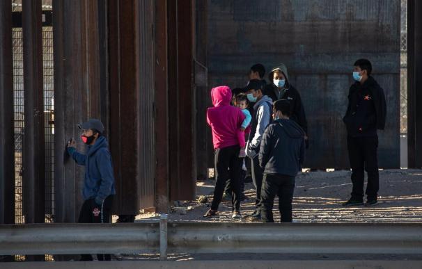 Migrantes fronteras Mexico