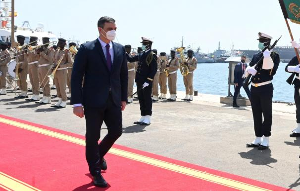 Ministerio de Interior Pedro Sanchez Dakar