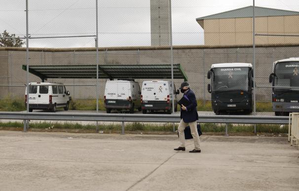 El extesorero del PP, Luis Bárcenas vuelve a la cárcel de Soto del Real.