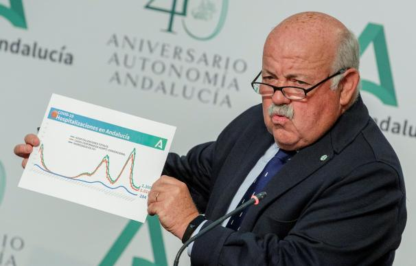 consejero de Salud y Familias Andalucía Jesús Aguirre