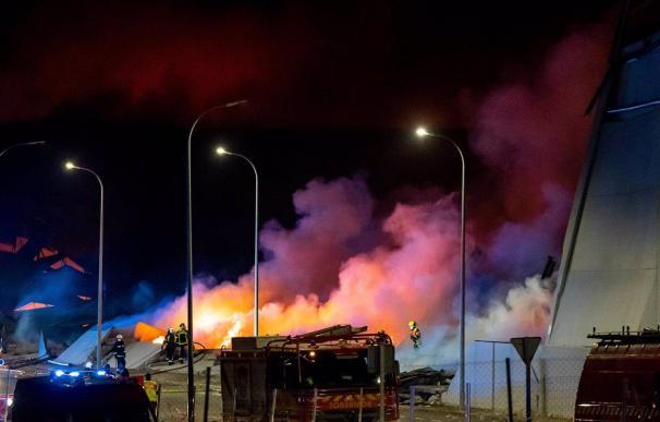13/03/2021 Incendio en las naves de Seseña en el margen de la A-4 SOCIEDAD EUROPA PRESS / DAVID CASERO - MOSS VOODO