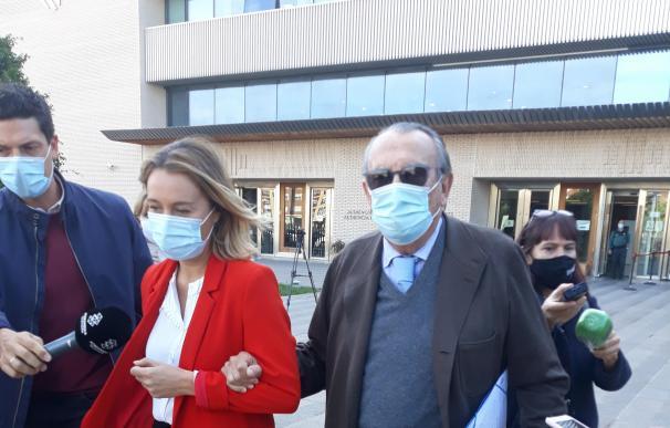 Carlos Fabra a la salida de los juzgados