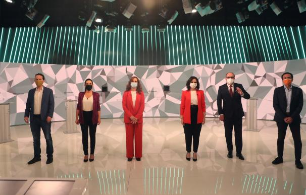Debate candidatos Telemadrid