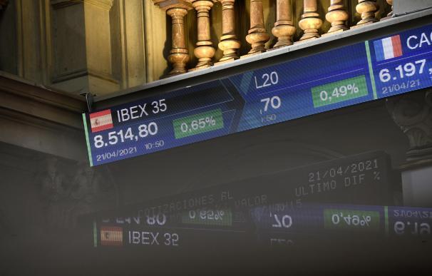 El Ibex 35 recupera los 8.500 puntos.