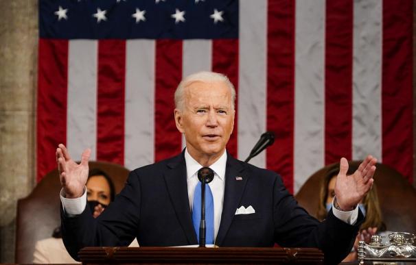 Biden en su discurso de los 100 días