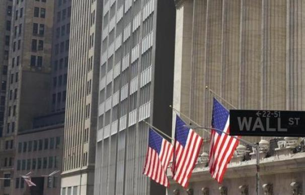 Fachada de la Bolsa de Nueva York en Wall Street.