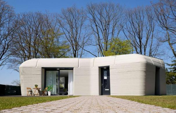 La primera casa impresa en 3D en Europa.