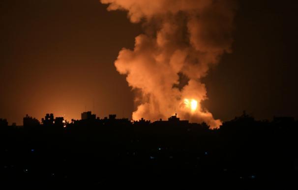 Bombardeos Gaza