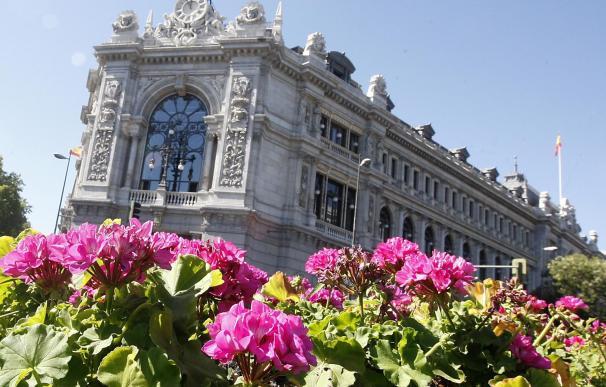 Fachada de la sede del Banco de España en Madrid