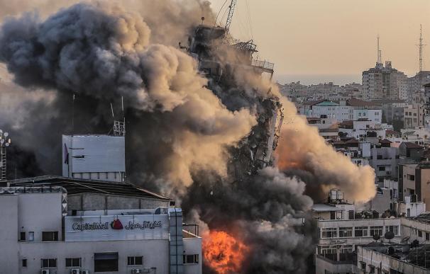 Bombardeos Gaza y Jerusalén
