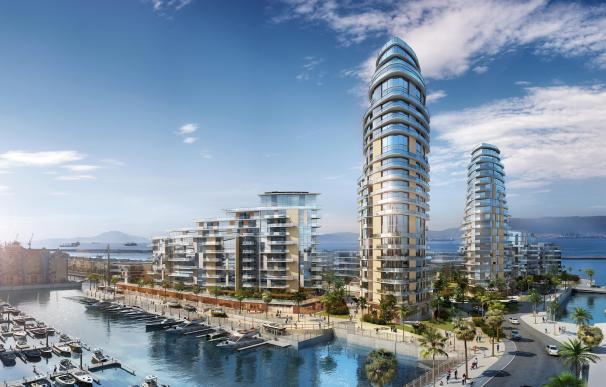 Gibraltar reta al Gobierno impulsando viviendas de lujo en aguas de España