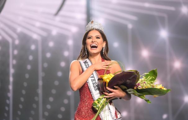 Fotografía cedida por la Organización Miss Universo donde aparece Miss México, Andrea Meza