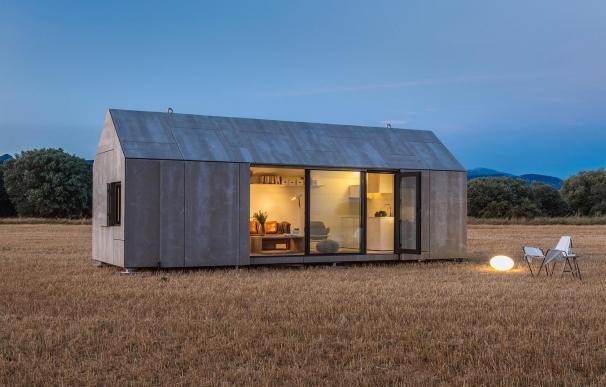 La casa prefabricada ÁPH80 del estudio ÁBATON.