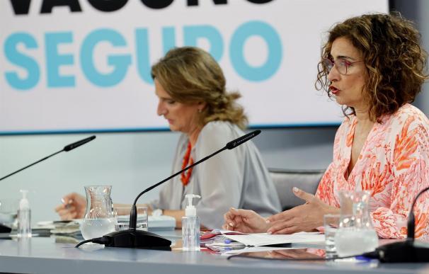 Ribera y Montero en Consejo de Ministros