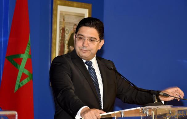 Nasser Bourita, ministro de Exteriores de Marruecos CHADI / XINHUA NEWS / CONTACTOPHOTO (Foto de ARCHIVO) 9/11/2020 ONLY FOR USE IN SPAIN