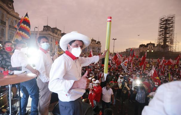Pedro Castillo, candidato presidencial por Perú Libre