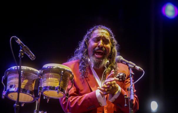 Diego El Cigala en un concierto en Madrid