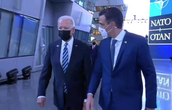 Encuentro Joe Biden y Pedro Sánchez