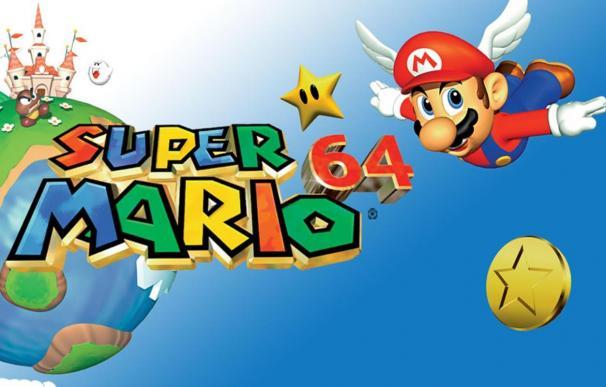 El Super Mario 64 de la Nintendo 64.