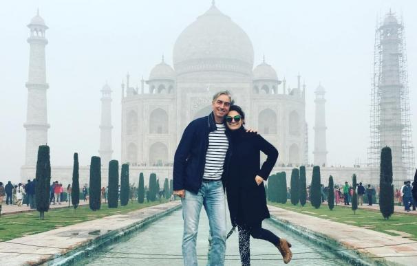 Alina y Nicolas Vandenberghe en el primer viaje de Chili Piper.