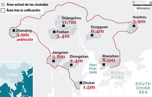 megalopolis china