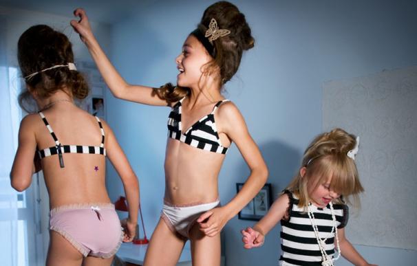 lenceria niñas