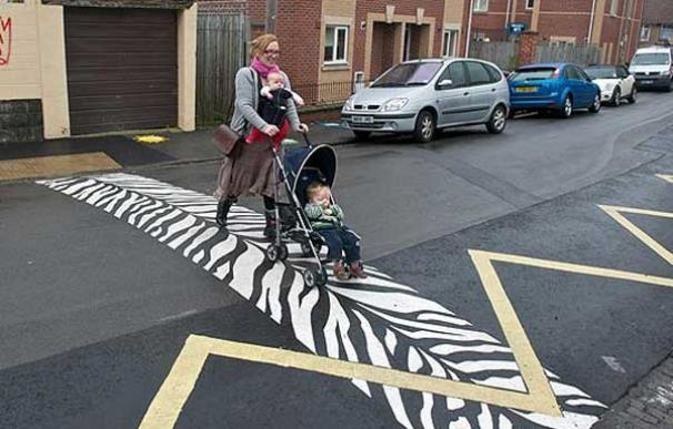 Bristol zebra crossing