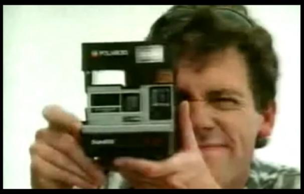 Hugh Laurie Polaroid
