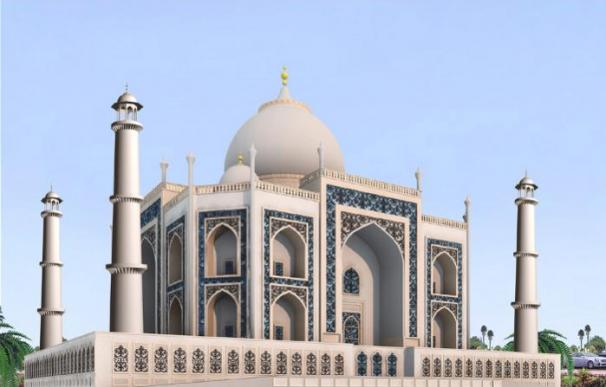 Dubai Taj Mahal - Taj Arabia Perspective