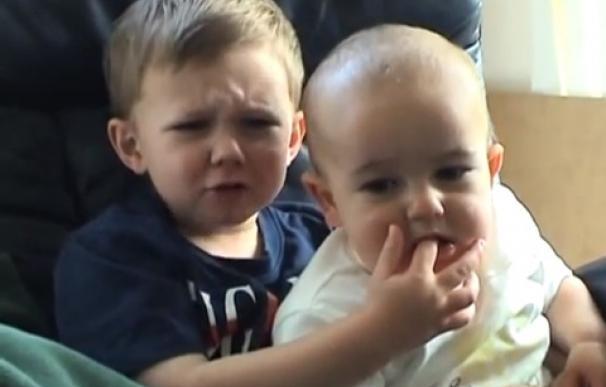 charlie y su hermano