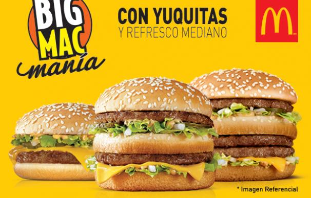 big mac venezuela