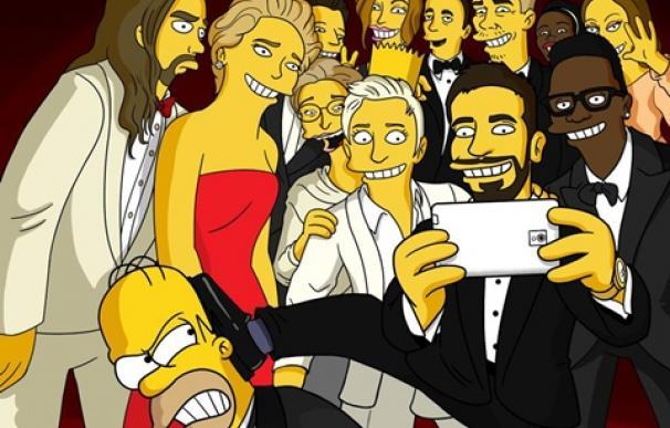 selfie simpson tv