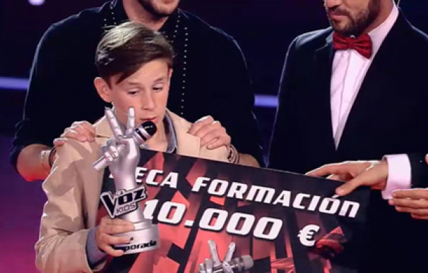 ganador la voz kids jose maria