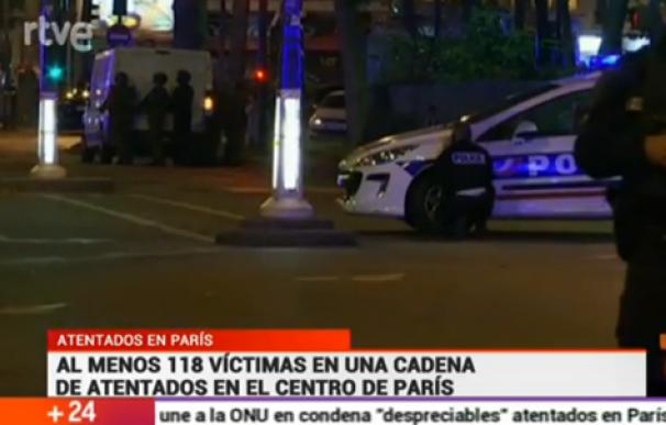 atentados de paris 24 horas