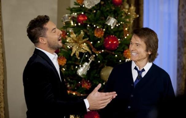 Grabación del programa especial de Navidad de Raphael