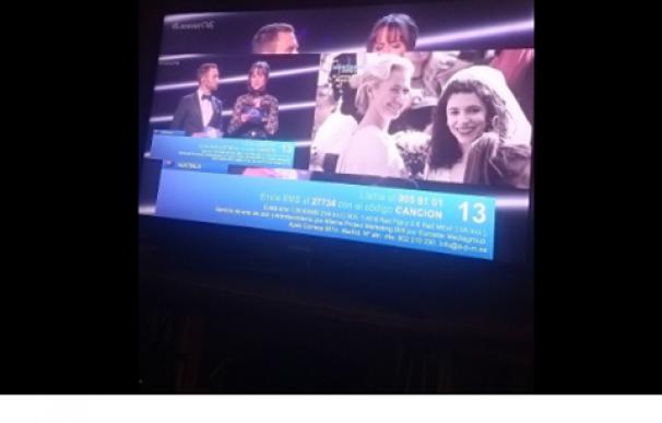 tuit quejandose eurovision cuentame