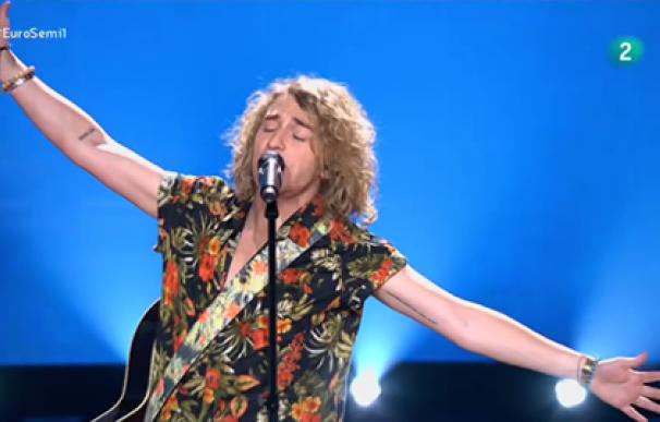 manel navarro eurovision actuacion