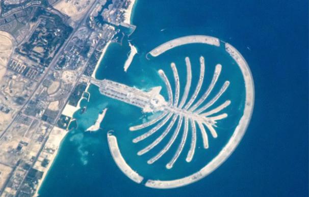 Uno de los proyectos más conocidos de Dubai World es la construcción de la isla en forma de palmera.