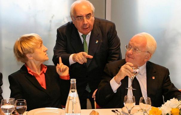 Areces defiende en Marsella una política de cohesión como garantía de solidaridad