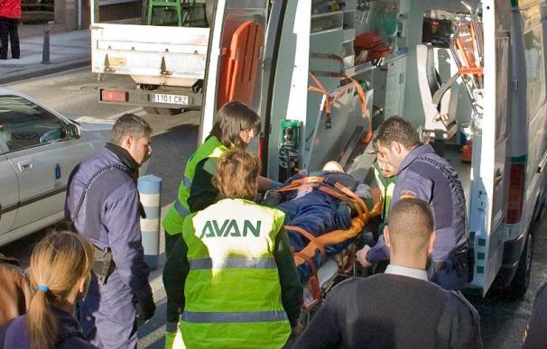 Dos fallecidos en una colisión frontolateral en la N-II, en Alfajarín