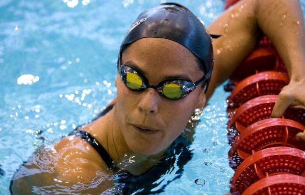Mercedes Peris bate el récord de España de 50 metros espalda