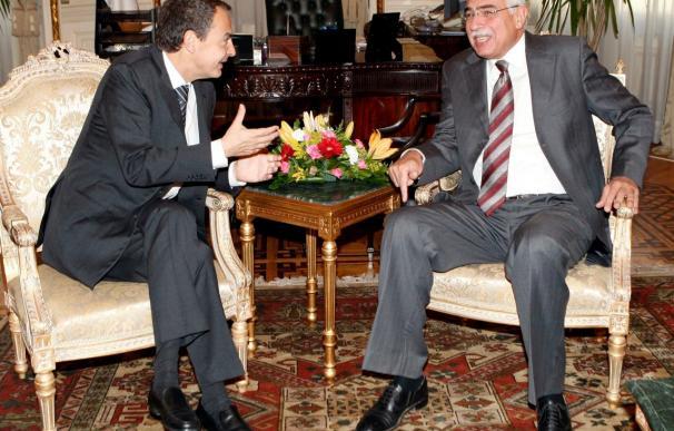 Zapatero buscará en Egipto y Arabia Saudí reactivar el diálogo israelo-palestino