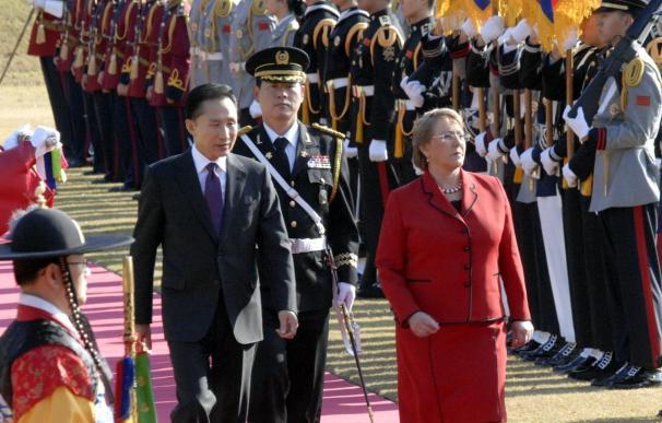 Bachelet y Lee desarrollarán el TLC entre Chile y Corea del Sur
