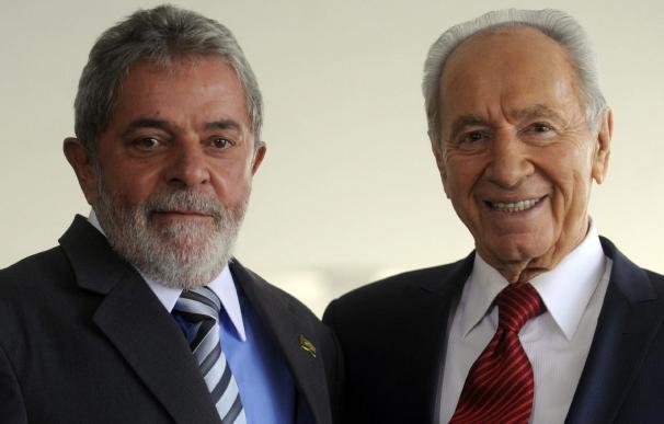 Lula recibe a Simón Peres para hablar de defensa y combate al terrorismo