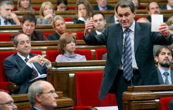 Montilla y Mas escenifican su voluntad de consensuar medidas anticorrupción
